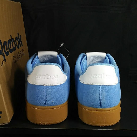 NIB! Reebok NPC UK II Fashion Sneaker Sky Blue